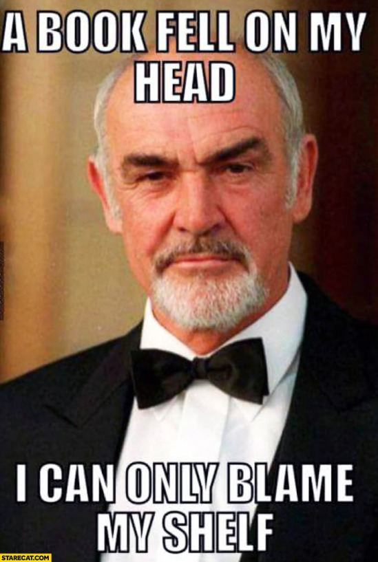 a-book-fell-on-my-head-i-can-only-blame-my-shelf-sean-connery